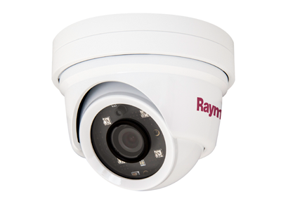 Raymarine AXIOM Видео мониторинг