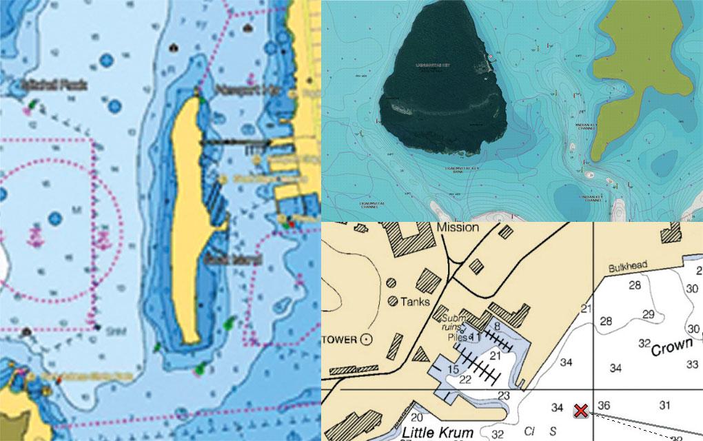 Карты для Raymarine AXIOM