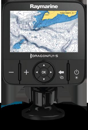 Навигационные карты для Raymarine Dragonfly