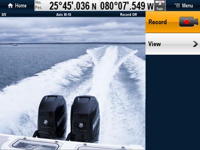 Raymarine a Series режим IP Видеокамеры