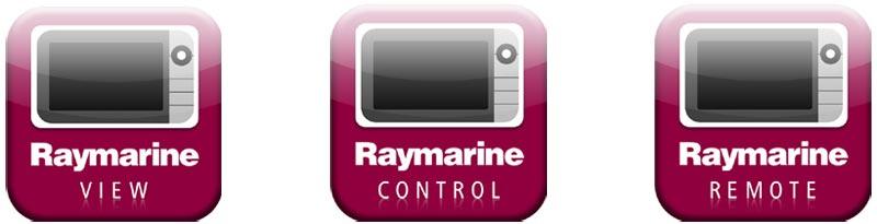 Raymarine APP: RayView, RayControl, RayRemote