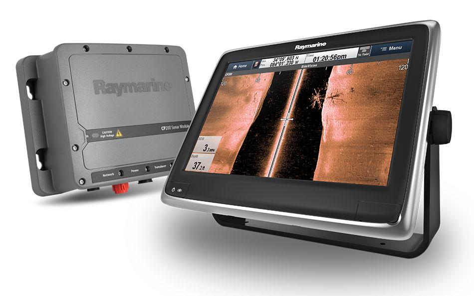 Raymarine CP200 CHIRP SideVision MFD