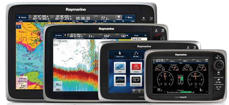 МФД Raymarine e Series HybridTouch™