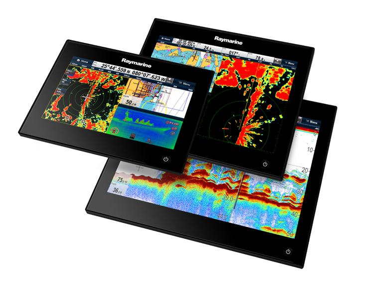 Raymarine gS Series Многофункциональные Навигационные Дисплеи Glass Bridge