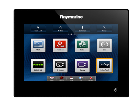 Raymarine gS Series МФД