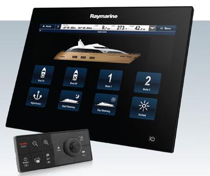 Raymarine gS Series Удобное меню