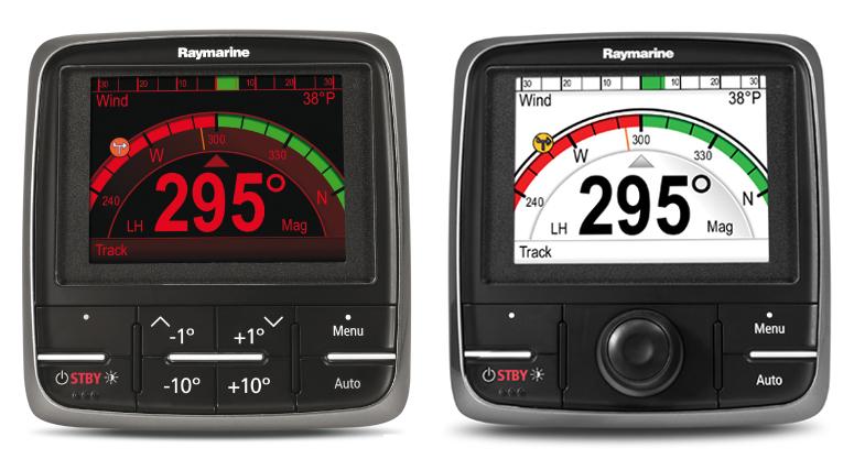 дисплеи управления автопилотом Raymarine p70,p70R