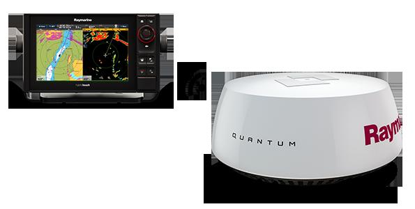 Raymarine Quantum: Простой монтаж