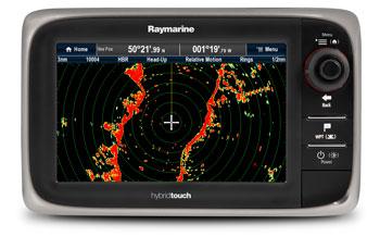 Радарные антенны Raymarine закрытого типа