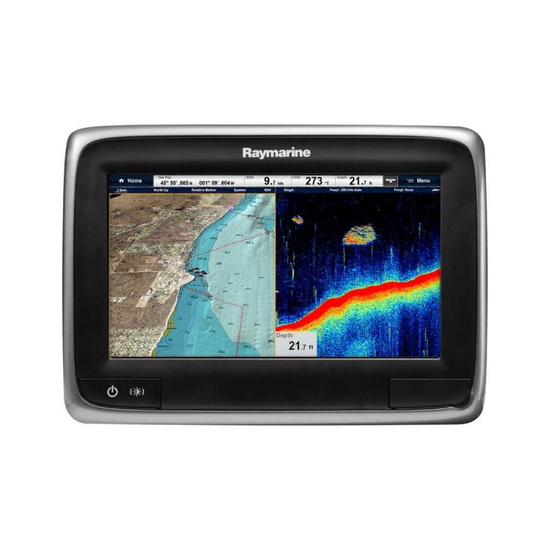 "a77 7"" Multifunctional Display with Built-in Fishfinder, No Chart