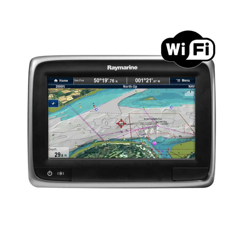 "a75 7"" Multifunctional Display with Wi-Fi, No Chart