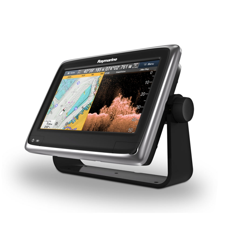 "a98 9"" Multifunctional Display with Built-in DownVision Fishfinder and Wi-Fi, No chart