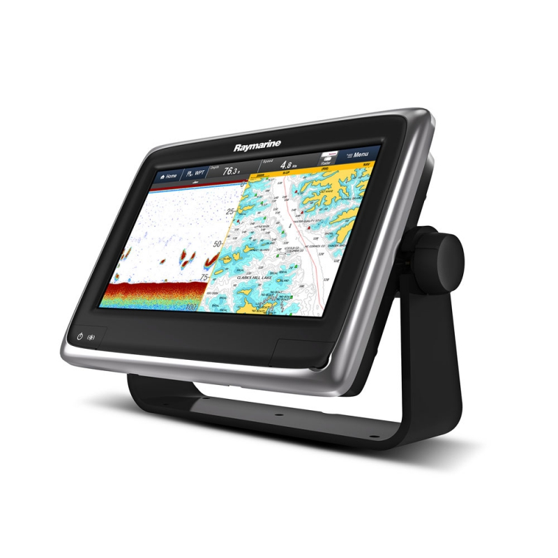 "a97 9"" Multifunctional Display with Built-in Fishfinder and Wi-Fi, No Chart