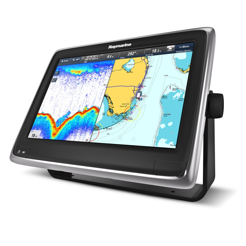 "a127 12"" Multifunctional Display with Built-in Fishfinder and Wi-Fi, No Chart