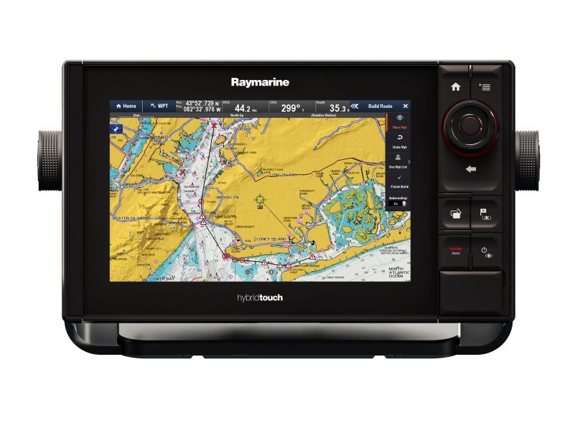 "eS97 9"" HybridTouch Multifunction Display with Built in Fishfinder and Wi-Fi, No Chart