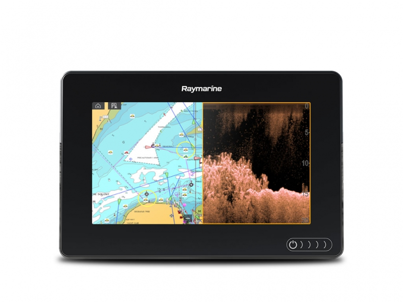 "AXIOM 7 DV, Multi-function 7"" Display with integrated 600W Sonar and DownVision