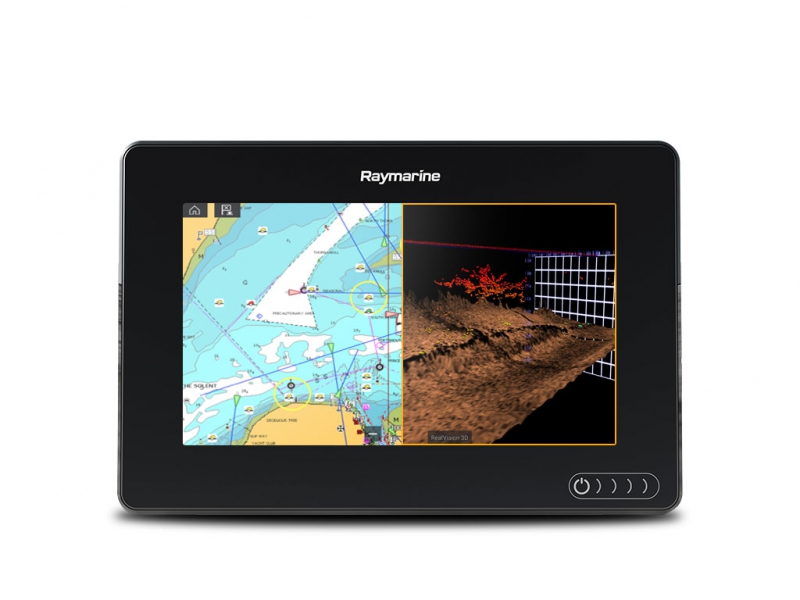 "AXIOM 7 RV, Multi-function 7"" Display with integrated RealVision 3D, 600W Sonar, no transducer