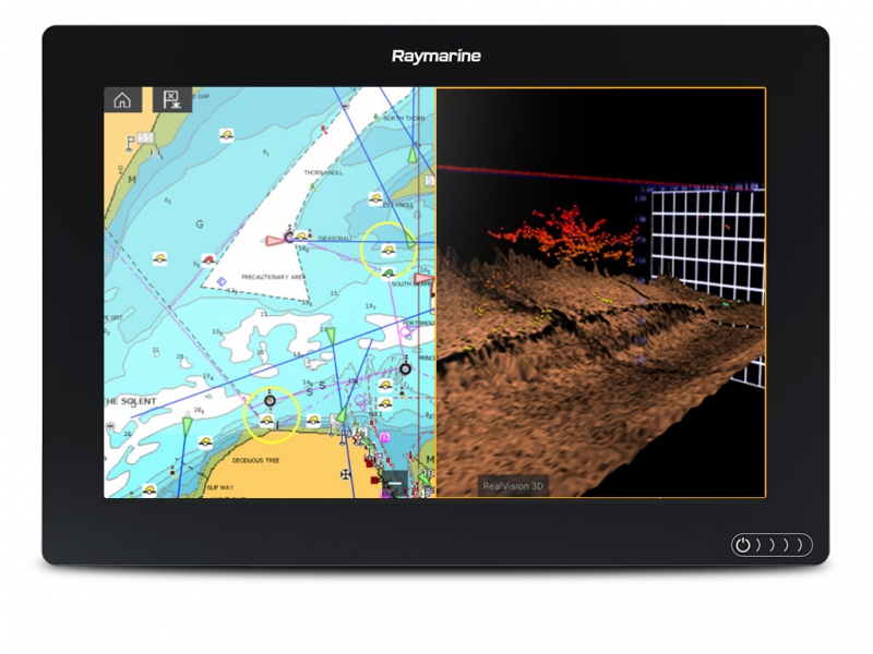 "AXIOM 12 RV, Multi-function 12"" Display with integrated RealVision 3D, 600W Sonar, no transducer