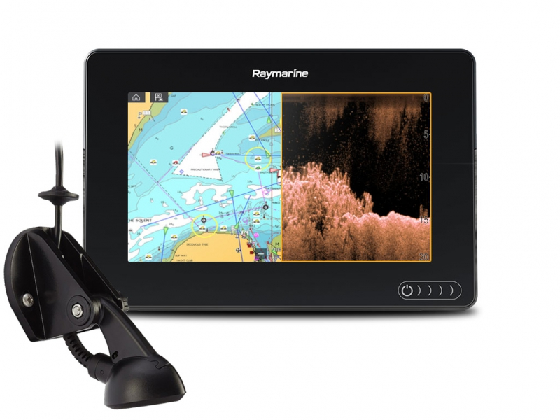 "AXIOM 7 DV, Multi-function 7"" Display with integrated DownVision, 600W Sonar includin CPT-S transducer