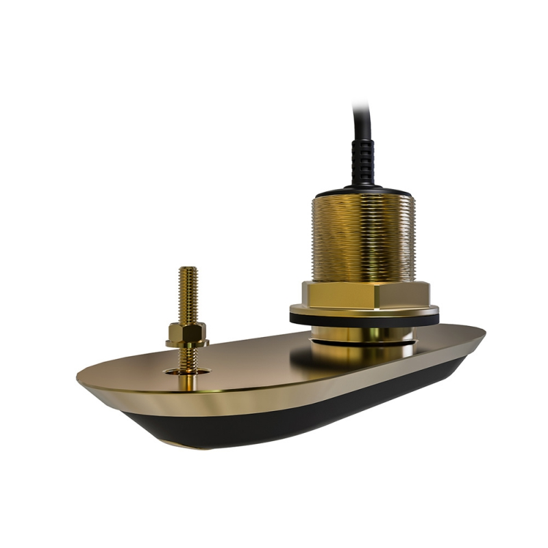 RV-212P RealVision 3D Bronze Through Hull Transducer Port 12°, Direct connect to AXIOM (2m cable)| A80466