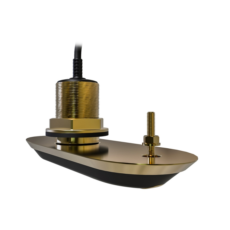 RV-220S RealVision 3D Bronze Through Hull Transducer Starboard 20°, Direct connect to AXIOM (2m cable)| A80469