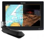 Дисплей AXIOM 12 RV, диагональ 30,5 см со встроенным сонаром 600 Вт и сонаром RealVision 3D, транцевый датчик RV-100 в комплекте.